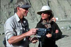 Photo of Jeff Rhoads and Jennifer Jordan at K2